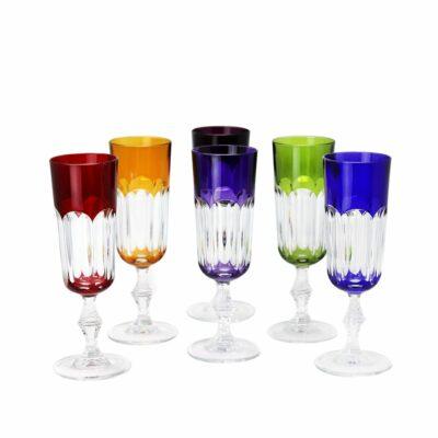 Flute-cristal-de-paris-couleur-Nicole