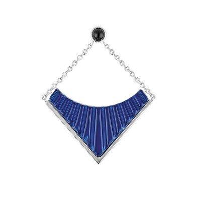 Boucle-oreille-1925-cristal-bleu-Lalique