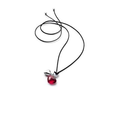 Pendentif-coeur-rouge-romance-Baccarat