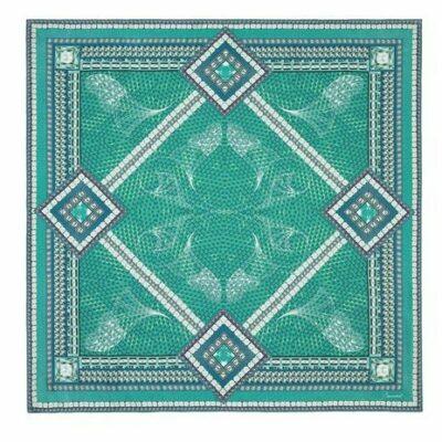 foulard-vert-baccarat
