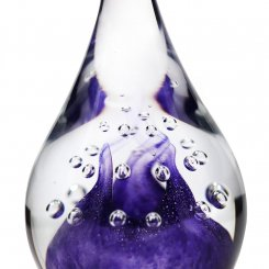 presse-papier-cristal-violet