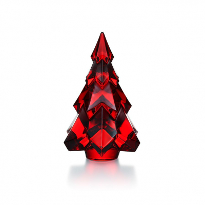 sapin-cristal-rouge-baccarat-Gstadd