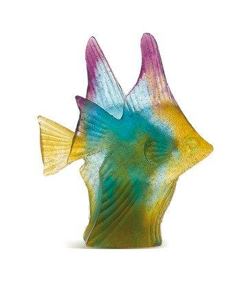 poissons+couple+de+poissons+ambre+vert+daum