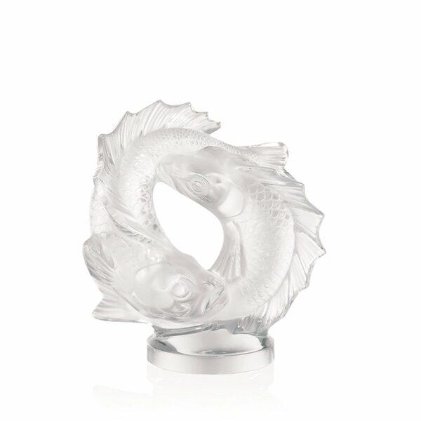sculpture-cristal-poissons-lalique