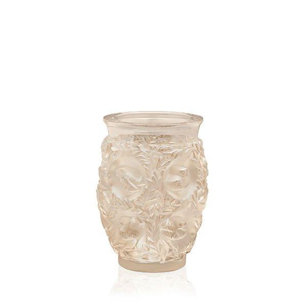 Gold Luster Bagatelle Vase Lalique Vessiere Cristaux