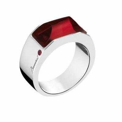 bague-b-mania-cristal-rouge-baccarat