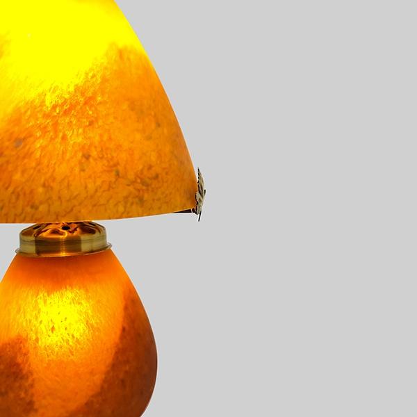 Lampe-champignon-orange