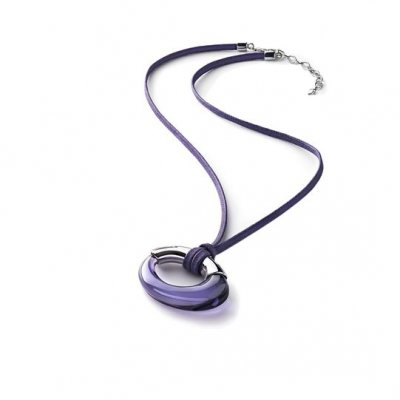 pendentif-galea-violet-argent-baccarat