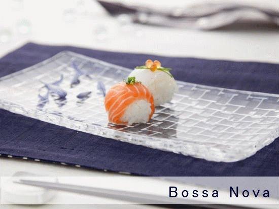 Bossa Nova Cristal Assiette