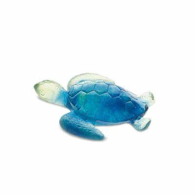 Mini-tortue-jaune-bleue-daum