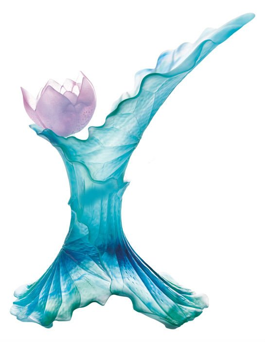 vase-lotus-cristal-daum