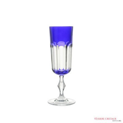 Flute-champagne-cristal-bleu-Nicole