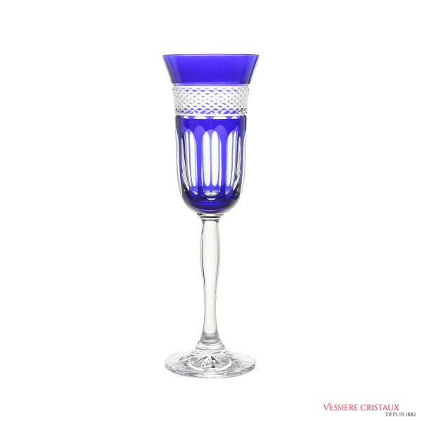 Flute-cristal-de-Paris-Bleu