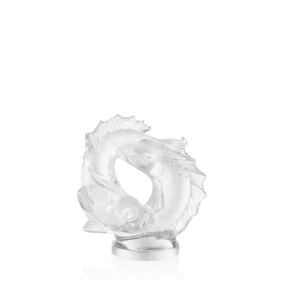 Lalique-double-fish-sculpture-medium-size
