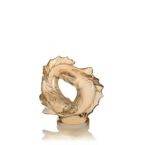 Lalique-double-fish-sculpture