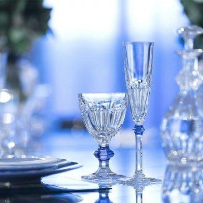 Verre-Harcourt-bleu-Baccarat
