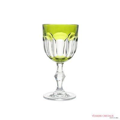 Verre-vin-cristal-vert-Nicole
