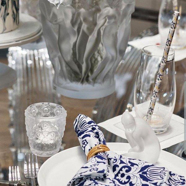 photophore en cristal lalique collection anémone