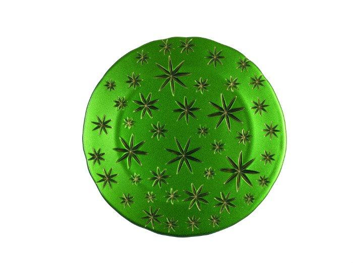 Assiette-cristal-vert-stars