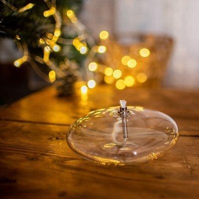 Lampe-huile-verre-galet