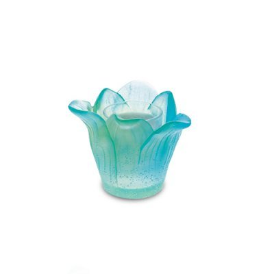 Amaryllis-Bougie-Turquoise-Daum