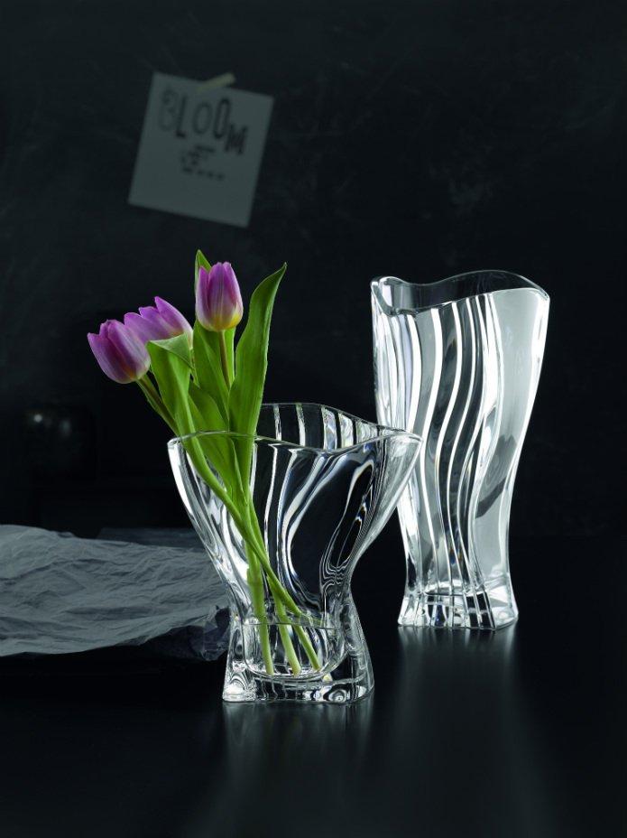 Vase Design Cristal Nachtmann Vessiere Cristaux