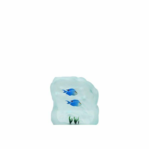 poisson-bleu-verre-sculpture