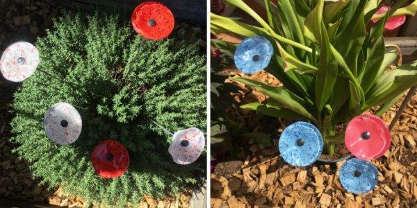 Fleur-cristal-verre-Jardin