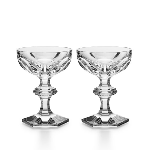 coffret harcourt coupe champagne x2 baccarat vessiere. Black Bedroom Furniture Sets. Home Design Ideas