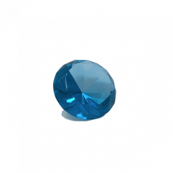 Diamant cristal bleu