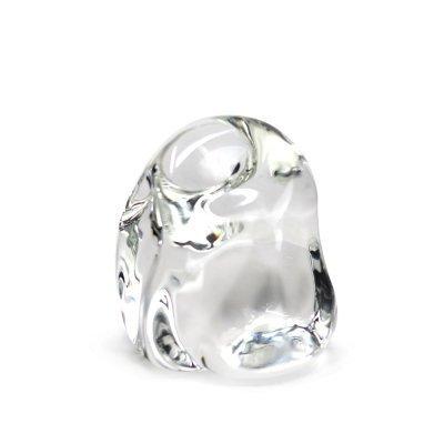 Presse-papier-glacon-verre-cristal