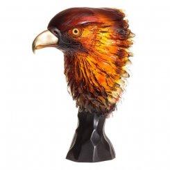 sculpture aigle royal pate de cristal daum