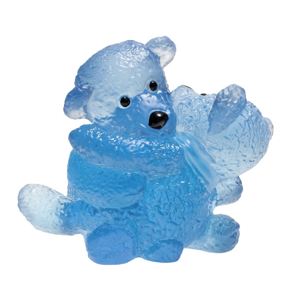 Doudours-Twins-bleu-serge-mansau-Daum