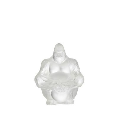 Gorilla-sculpture-cristal-Lalique