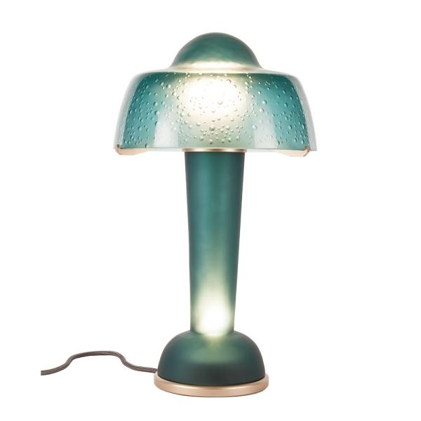 Lampe-resonance-vert-boreal-Daum