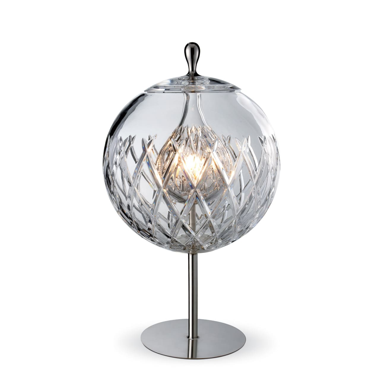 Image of: Sfera Crystal Lamp Baccarat Vessiere Cristaux