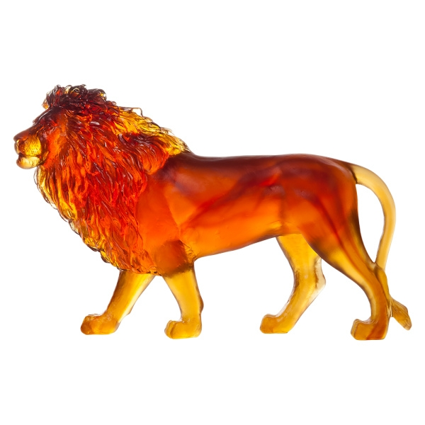 Lion-Sand-cristal-Daum