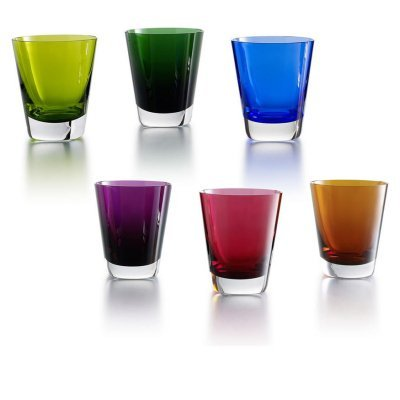 COLOR CRYSTAL GLASSES