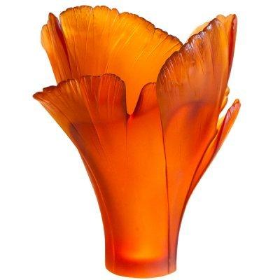 Vase-magnum-ambre-ginkgo-Daum