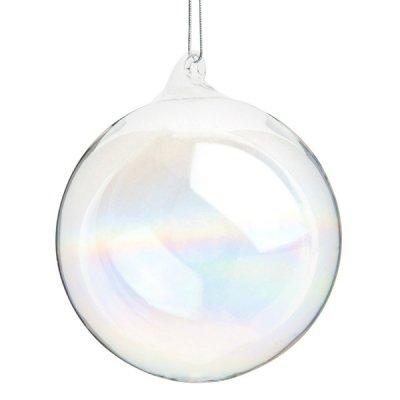 Boule-de-noel-transparente-en-verre-irisee