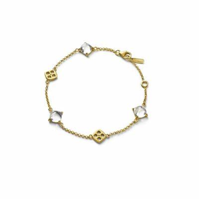 Bracelet-Medicis-vermeil-Baccarat
