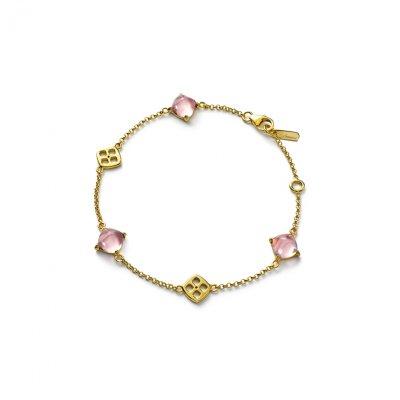 Bracelet-rose-miroir-Medicis-Baccarat