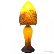 Lampe-champignon-pate-de-verre