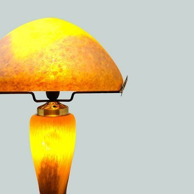 Lampe-pate-de-verre-orange-zoom
