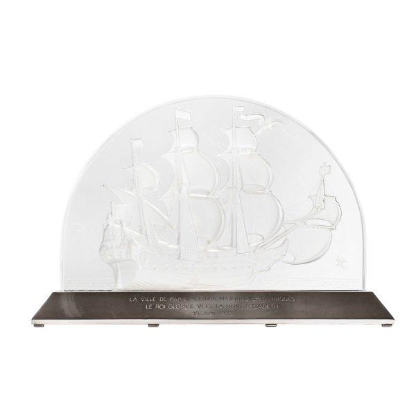 Surtout-Caravelle-Lalique