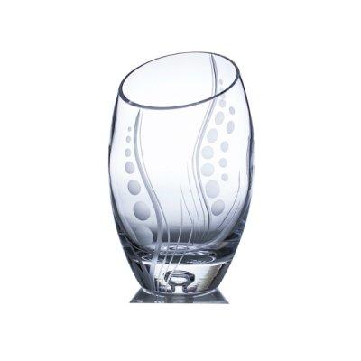 Vase-cristal-taille-main