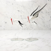 Cigogne-cristal
