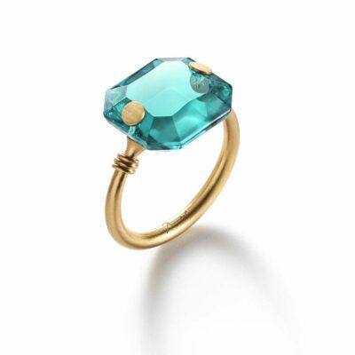 Bague-Marie-Hélène-de-Taillac-turquoise-Baccarat