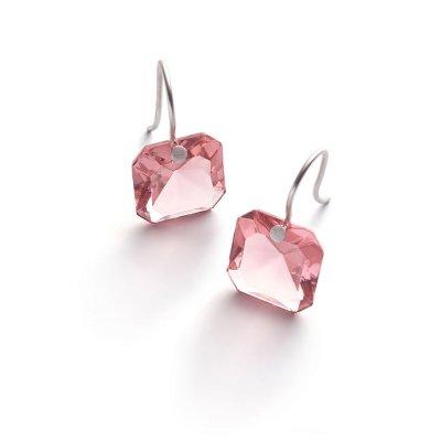 Boucles-oreilles-octogone-cristal-rose-Baccarat