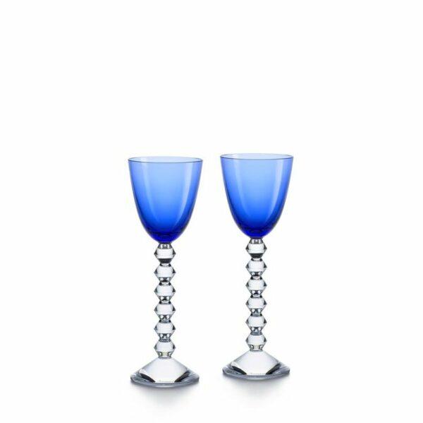 Coffret-Vega-verre-vin-du-rhin-bleu-Baccarat